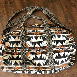 Mossimo Aztec Weekender Duffle Bag
